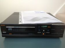 PHILIPS CD-104 Vintage CD Player. Serviced.  G.W.O. Nice cosmetic condition.