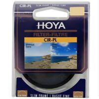 Hoya CIR-PL CPL Polarizer Slim Frame Lens Filter 46 49 52 55 58 62 67 72 77 82mm
