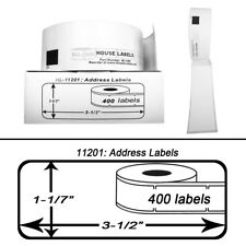BROTHER DK-1201 11201 Compatible Direct Thermal Labels  (100) Rolls FASSON PAPER