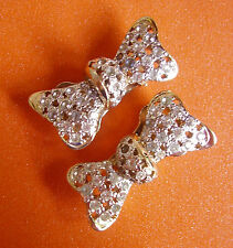 "524 /   VALENTINO / BOUCLES D'OREILLE CLIPS  ""NOEUDS"""