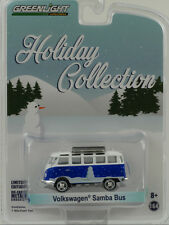 VW Volkswagen Samba Bus 1:64 Greenlight Holiday (Vacances) Collection