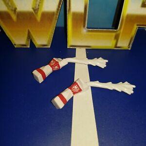 2 x Open Milk Carton - Mattel Accessories for WWE Wrestling Figures - MilkoMania