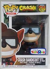 Funko Pop Games Tru Exclusive Crash Bandicoot w/ Jet Pack #274 Vinyl Figure