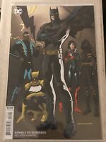 BATMAN & THE OUTSIDERS #8 KEVIN NOWLAN VARIANT COVER 2019 dc comics