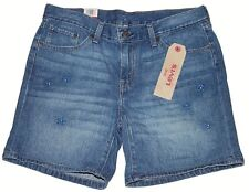 Women's Levi's Classic Jean Shorts (296940003) Daisy Drive Blue - Size 24 in NWT