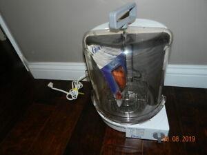 Oster Sunbeam Carousel Rotisserie Vertical Oven Broiler White ER-100 Model 4780