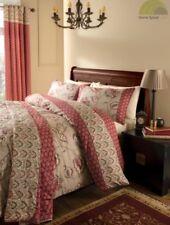 Linge de lit et ensembles beige à motif Floral en 100% coton
