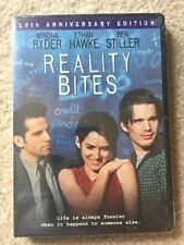 REALITY BITES DVD~2004~ 10th ANNIVERSARY~WIDESCREEN~BEN STILLER WINONA RYDER~NEW