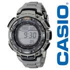 Casio Men's PAG240T-7CR Pathfinder Triple Sensor Multi-Function Titanium Watch