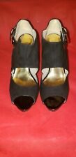 Womens Designer Shoes Nine West Black size 10