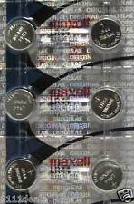 6 - MAXELL LR44/A76 1.5V ALKALINE BATTERY  fresh new