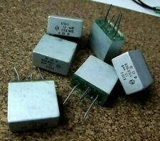 6 X Capacitor PETP K73P-3 1.0uf +/-10% 160V with shielding. PCS 6
