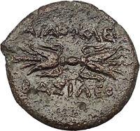 Syracuse Sicily 304BC Agathocles Tyrant Rare Ancient Greek Coin Artemis i51453