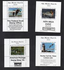 USA Sam Huston Duck Co Souvenir Sheet Labels
