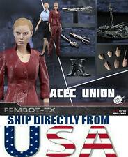 1/6 Terminator 3 T-X Figure Kristanna Loken Full Set For Hot Toys USA IN STOCK