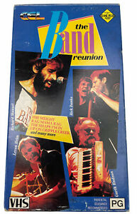 The Band Reunion Richard Manual Levon Helm Garth Hudson VHS Video Cassette PAL