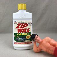 Turtle Wax ZIP WAX Vintage 1983 Auto Car Wash Adds Shine Foams Instantly