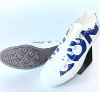 Converse Chuck Taylor All Star Wordmark OX Sneaker Weiß Blau Unisex 159535C SALE