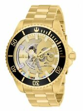 Invicta Star Wars C-3PO 24 Jewels Automatic Gold Dial Steel Men's Watch 26597 SD