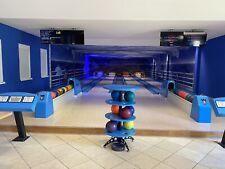 4 Bahn Bowlingbahnanlage Komplett