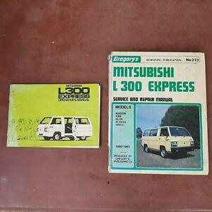 Mitsubishi L300 Express service & repair manual plus operators manual. Bulk lot