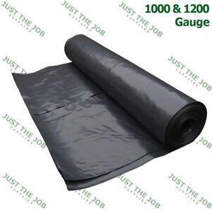 Damp Proof Membrane ~ 1000 & 1200 Gauge ~1,2,3,4,5,6,7,8,9, 10m Length x 4m Wide
