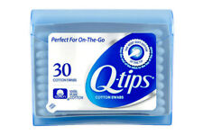Q-Tips Cotton Swabs Perfect For On The Go Travel Size 30 Count, 2 Packs