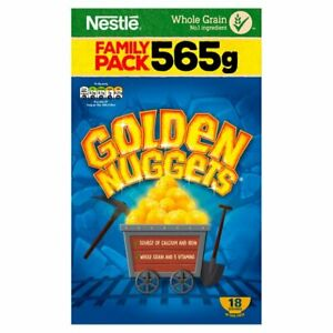Golden Nuggets Cereal 565g - Sold Worldwide from UK