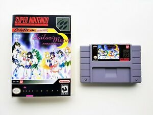 Sailor Moon Another Story RPG Game / Case Super Nintendo - English - SNES (USA)