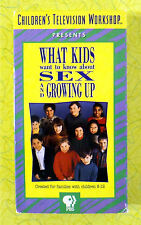 What Kids Want to Know About Sex and Growing Up ~ VHS Movie ~ PBS Video Workshop