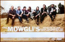 THE MOWGLI'S Waiting For The Dawn Ltd Ed New RARE Poster +FREE Indie Rock Poster