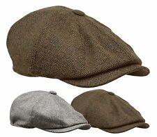 07495ef5dd8 ROOSTER WOOL TWEED GATSBY NEWSBOY CAP MEN BLACK HAT GOLF IVY CABBIE WINTER