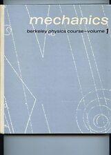 MECANICS BERKELEY PHYSICS COURSE - volume 1 C.KITTEL D.KNIGHT A.RUDERMAN 1965
