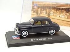 Ixo Presse 1/43 - Simca 9 Aronde 1954 Bleue
