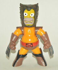 VERY RARE TOY MEXICAN FIGURE HOMER SIMPSON PARODY WOLVERINE X-MEN 7 INCHES