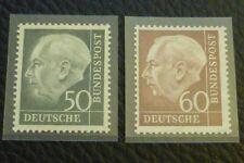 BRD/Bund 1954 Michel-Nr.: 189-190 postfrisch geprüft Schlegel BPP