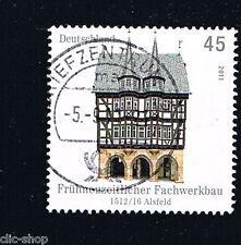GERMANIA 1 FRANCOBOLLO ARCHITETTURA ALSFELD 2011 usato