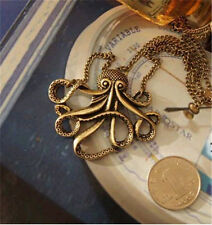 Pirates of the Caribbean II Sea Monster Cosplay Captian Pendant Alloy Necklace