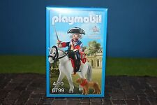 Playmobil Figurine Spéciale Frédéric Le Grand à cheval Preusse 6799