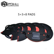 A SET OF PDH Professional Drum Mute Silencer Pad Practice Pad