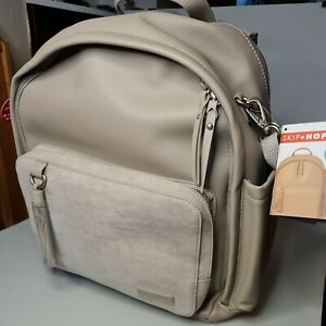 Skip Hop Greenwich Simply Chic Nappy Changing Backpack Portobello