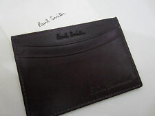 Paul Smith Damson Hand Burnished Leather 4x Credit Card Case