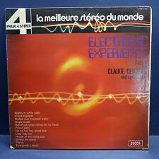 CLAUDE DENJEAN and synthesizer Electronic experience PFS 4192