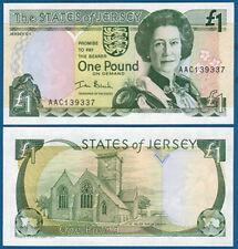JERSEY 1 Pound (2000) UNC  P. 26