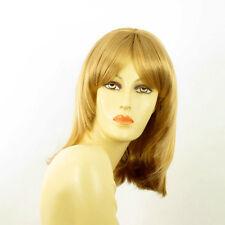 Perruque femme mi-longue blond doré EDITH 24B