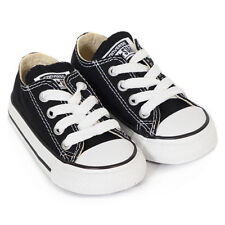 Converse Sneakers  Infants Black Lace All Star Classic   Infants Size 3