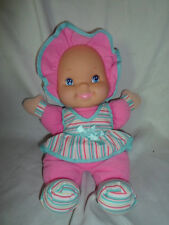 "Goldberger Giggles Doll Firm Face Baby Doll 13"" Plush Soft Toy Stuffed Animal"