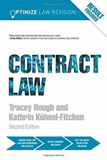 Optimize Contract Law,Kathrin Kuhnel-Fitchen, Tracey Hough- 9781138230262