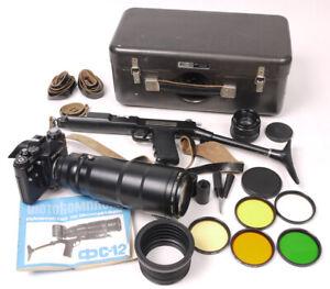Russian Photosniper - Zenit 12C w/Tair 300 3C - Full Mint Kit - Ships from USA