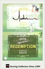 2009-10 Select Cricket Trading Cards Signature Redemption ES6 Marcus North